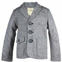 Suit Thick Blazer For Children Gray Blazer