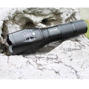 100% аутентичные E17 2000 Lumens 5-Mode нью-cree XM-L T6 из светодиодов фонари масштабируемые фокус факел от 1 * 18650 или 3 * ааа