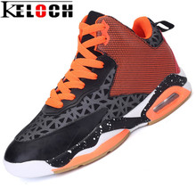 Keloch 2017 Men Air Cushion Basketball Shoes Mesh Breathable Athletic Basketball Sport boots For Men New Cheap Sneakers Footwear