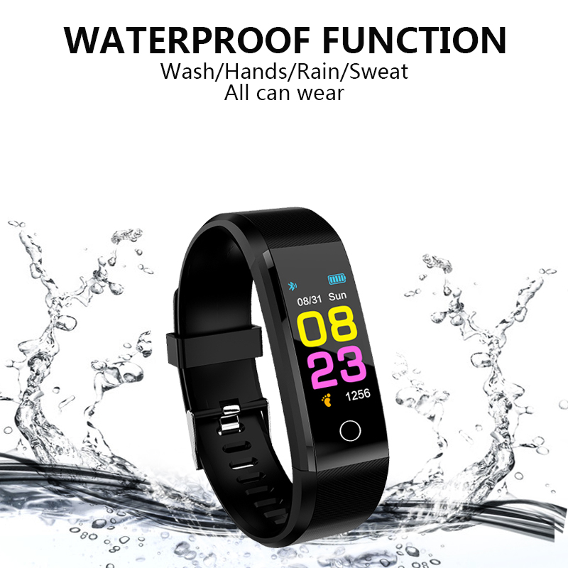 Smart watch man, woman. Heart rate Monitor blood pressure Fitness Tracker sports watch Smartwatch for ios Function