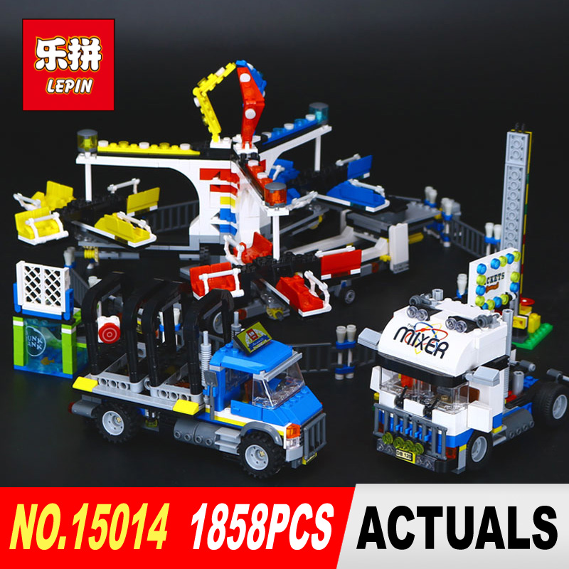 Здесь продается  Lepin 15014 1858Pcs Genuine Street Series The Amusement Park Giant Stride Carnival Set 10244 Building Blocks Bricks Toy  Игрушки и Хобби