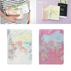 THINKTHENDO для женщин Путешествия Обложка для паспорта защитный чехол-подставка для планшета карты контейнер для билетов сумка