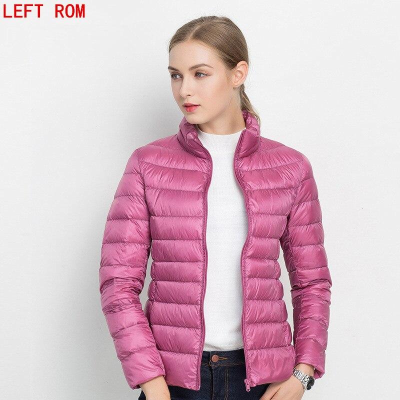 New 2017 Winter jacket Women 90% White Duck Down Jacket Women Coat Ultra Light Down Warm Jackets Brand fashion short down jacket
