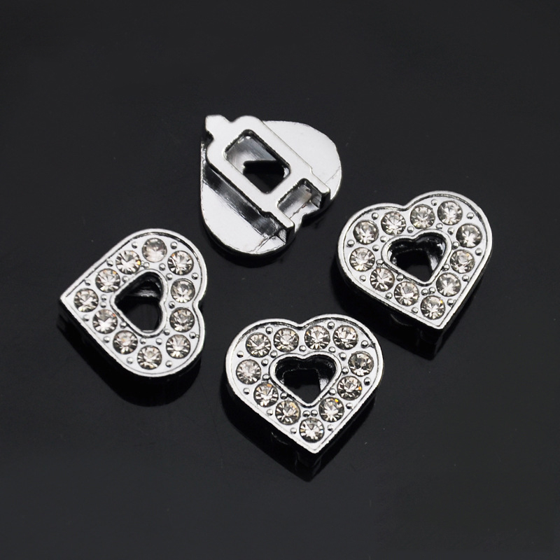 (100 Pieces/lot) 10MM Bling Alloy Dog Pet Accessories Letters /Charms for Cat Dog Pet Pe ...