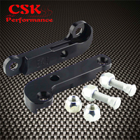 Adapter increasing turn angles about 25%  30% drift lock kit For BMW E46  Black / red / silver   -