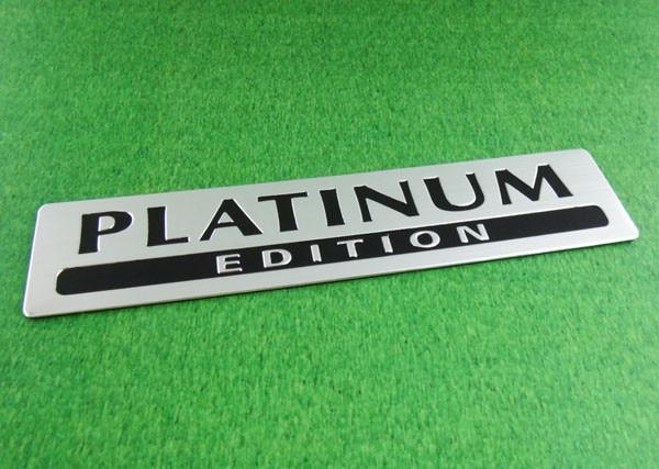 Алюминиевая серия PLATINUM для специальной лимитированной эмблемы Pathfinder, стикер значка