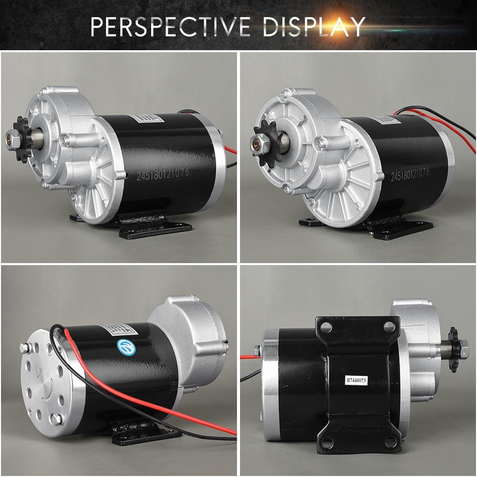 UNITEMOTOR Kit Electric DC Brush Motor MY1020Z 450W 24V 36V 48V Gear Decelerate Tricycle Motorcycle Quad