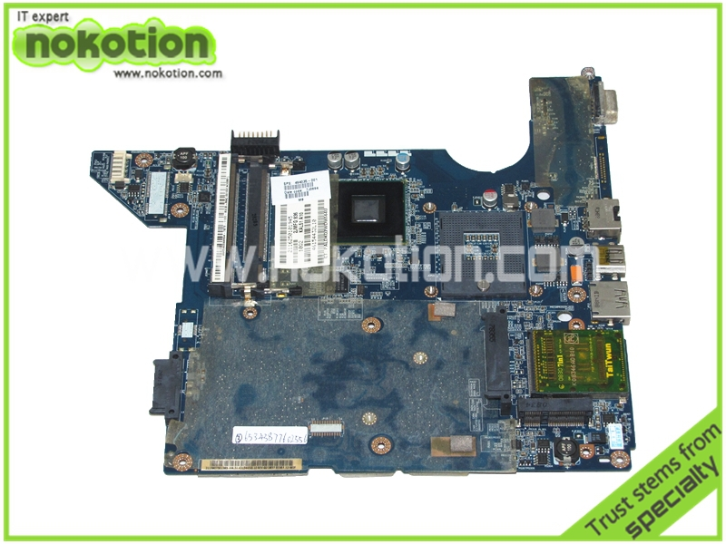 NOKOTION laptop motherboard for hp compaq cq40 494035-001 LA-4101P intel gl40 ddr2 Mainboard Free Shipping цена