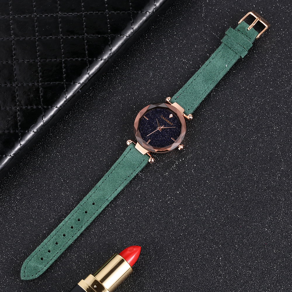 cagarny 2018 Leather Women Watches Ladies Luxury Brand Famous Wrist Watch Fashion Dress Female Clock Relogio Feminino Montre Femme drop shipping (2)