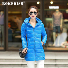 Plus Size M-4XL Winter Jacket Women New Slim PU Leather Cotton Jacket Coat Hooded Parkas Solid Abrigos Mujer Overcoat TG087