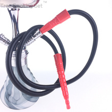 1pc al fakher glass hookah style Hookah Shisha Hose pipe Shish sheesha hose with plastic film No glue healthy