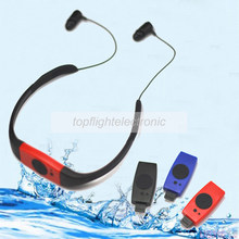DN006 4G/8GB FM Radio Head Wearing Diving Swim Surfing Underwater Sports Music Player Waterproof IPX8 MP3 Player(China)