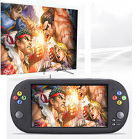 X16 8G Video Game Console 7.0 Inch Sreen Portable Retro Handheld Games Consoles TV OUT Support CPS/GBA/MD/FC/GB/GBC