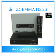 10pcs/lot Zgemma H5.2S 2* DVB-S2 Linux Enigma 2 Dual Core Digital TV Receiver HEVC H.265 SET TOP BOX