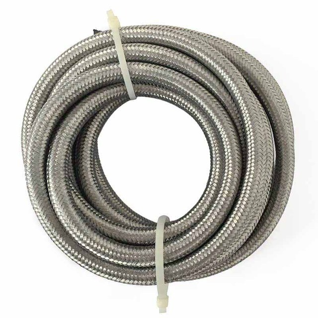 AN 6 Stainless Steel Fuel Oil Hose End Adapter Pipe 5 Meter Double Braided Fuel Line_640x640 an 6 stainless steel fuel oil hose end adapter pipe 5 meter double