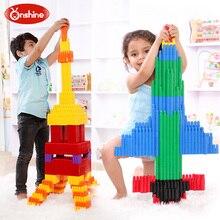 132pcs Children Educational Bullet Plug Match Building Blocks Kids Intelligence Development Creative Assemblage Toys