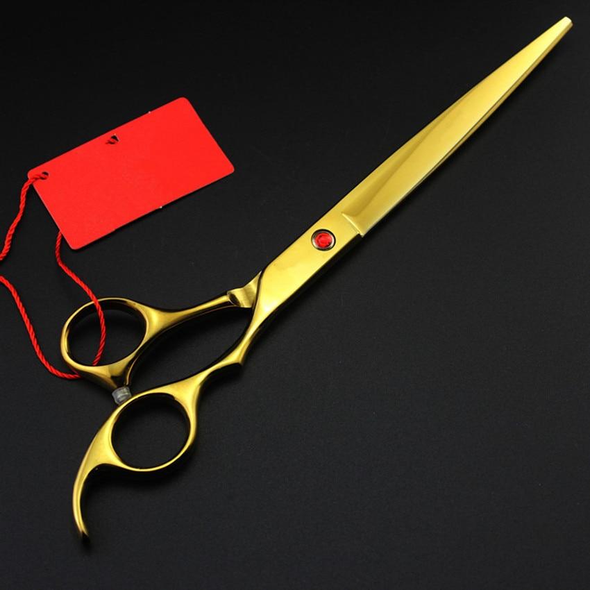 Personnalisé Japon 440c 8 pouces couleurs chien toilettage cheveux - Soin des cheveux et coiffage - Photo 3
