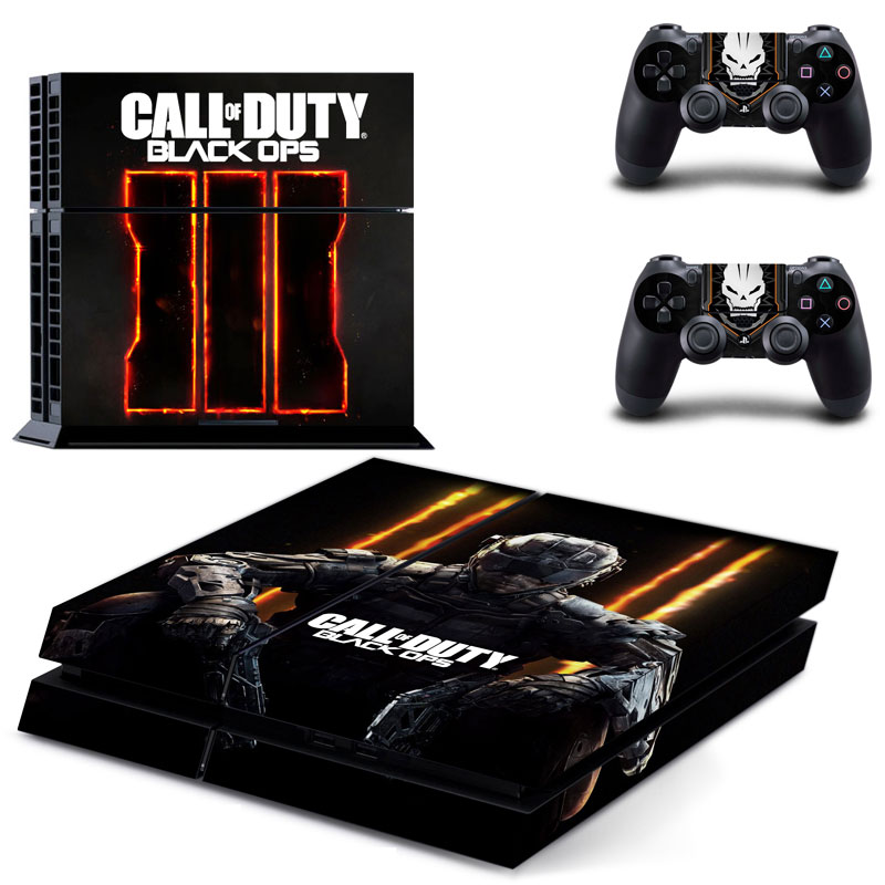Call of Duty PS4 Skin Sticker Decal For Sony PlayStation 4 Console and 2 Controllers PS4 Skin Sticker Vinyl