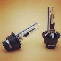 2pcs D2R HID Xenon Bulb Xenon Lamp D2R Metal Holder Replacement Light Lamp Bulb Car Headlight