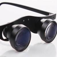 2.5X Hands Free Dental Surgical Binocular Loupes Medical Eyeglass Magnifier Portable Magnifying Glass