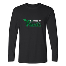 """Powered By Plants"" longsleeve shirt"