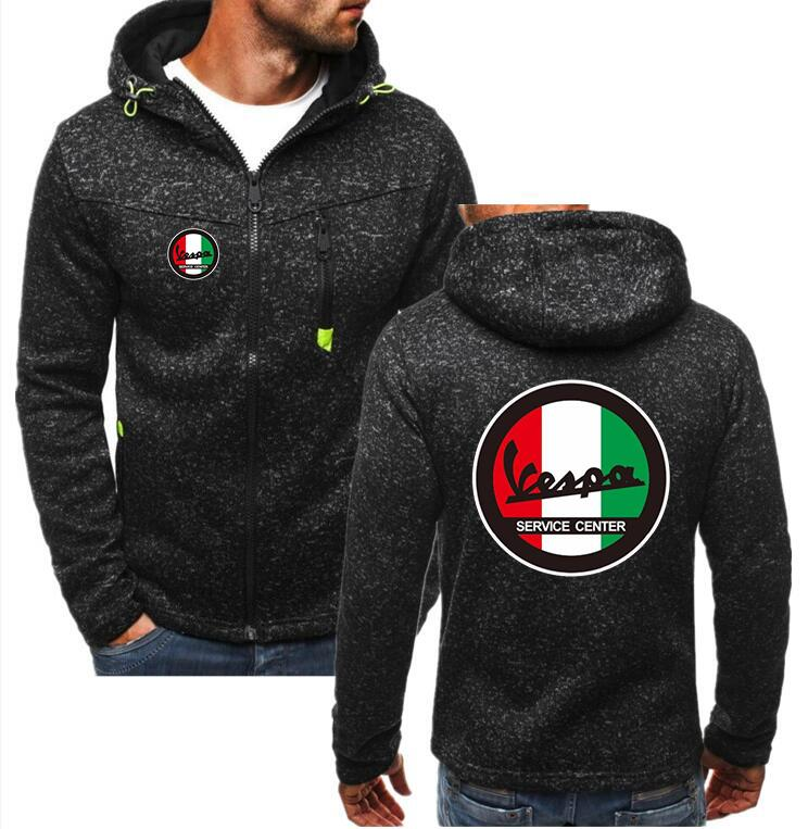 Spring Cardigan Men Yamaha Logo Zipper Hoodies Jacket Print Clothing Fashion Casual Zipper Sweatshirt Men's Clothing
