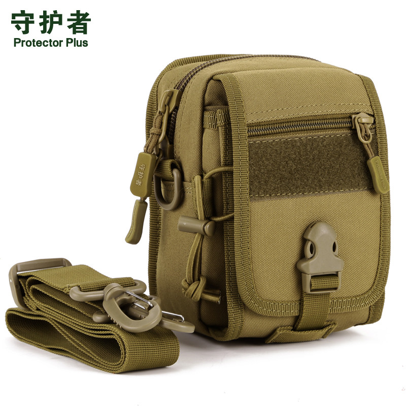 Nylon shoulder inclined bag, high quality men and women wear waist bag tourism and leisure female bag