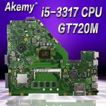 Akemy X550CC материнской GT720M I5-3337U для ASUS X550C X550CL X552C Материнская плата ноутбука X550CC плата X550CC материнская плата