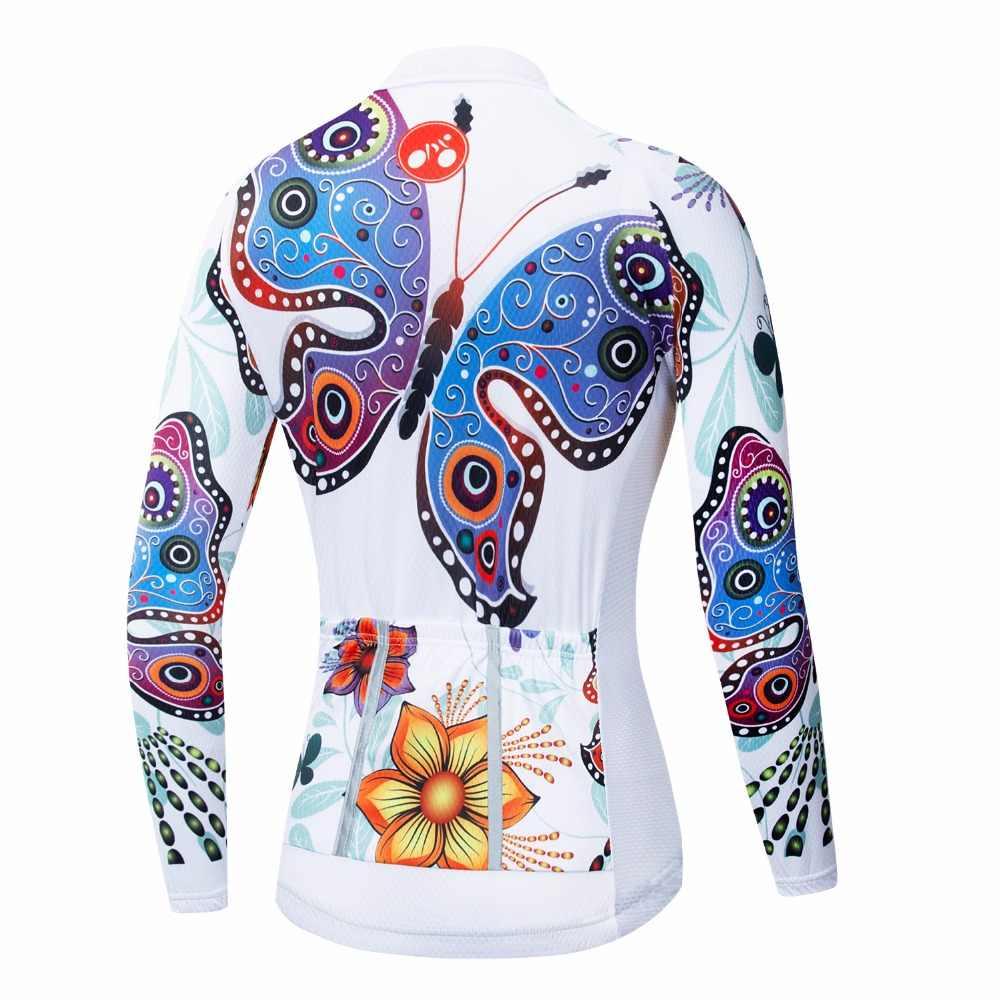 Велосипедная футболка с длинным рукавом, Женская велосипедная майка 2018, одежда для горного велосипеда, одежда для горной команды, Майо, гоночные рубашки, Ropa Ciclismo
