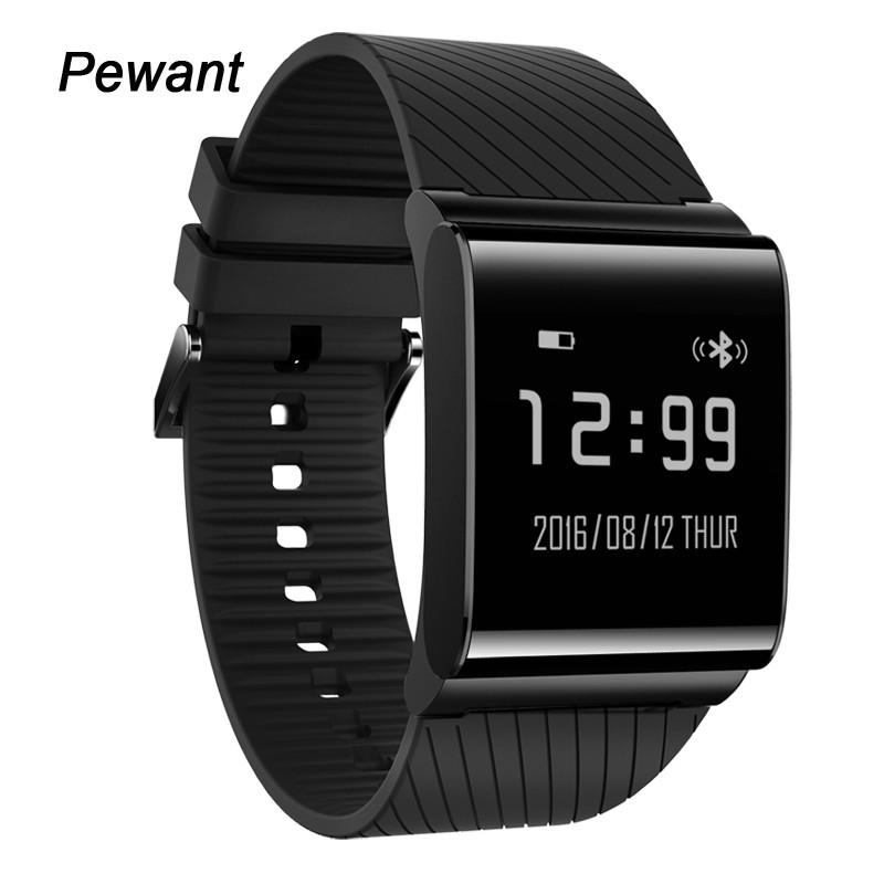 Prix pour Nouveau Pewant Sang Pression Smart Watch Smart Suivi de Remise En Forme Santé Smartwatch Avec en Oxygène du Sang Téléphone Horloge Pour IOS Android