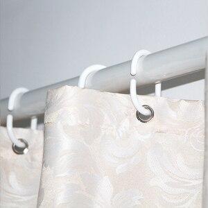 Image 5 - ستائر حمام مصنوعة من قماش مقاوم للماء من ورق الجاكوارد والبوليستر ستائر حمام أنيقة أوروبية ستارة حمام سميكة