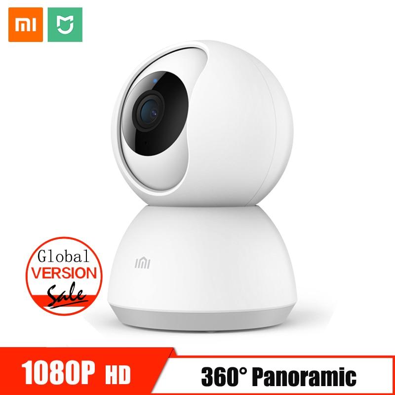 Xiaomi Mijia мини ip-камера Wifi 1080 P инфракрасное ночное видение 360 градусов беспроводная домашняя камера видеонаблюдения детский монитор