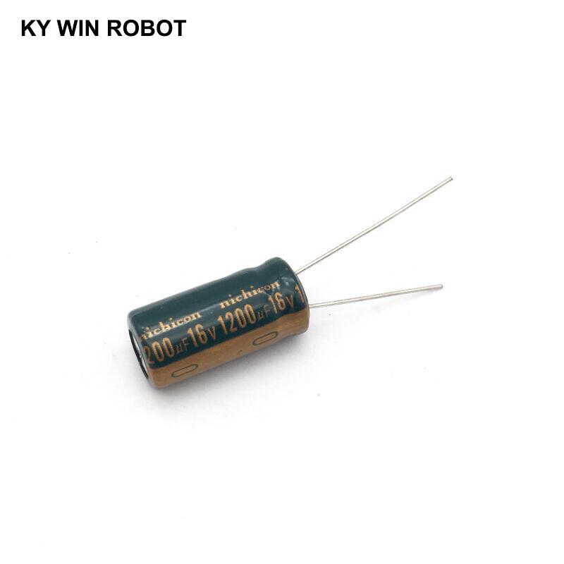 10 uF 50 Volt Radial Capacitor 35 pcs