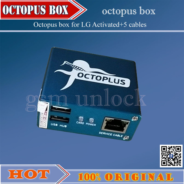 US $138 92 |gsmjustoncct Octopus box + 5 cables for LG repair IMEI UNLOCK  flash rom The world's best for LG instrument free shipping-in Telecom Parts
