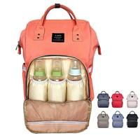 Brand Designer Baby Diaper Bag Backpack Big Capacity Baby Care Mother Backpack Organizer Waterproof Traveling Nappy
