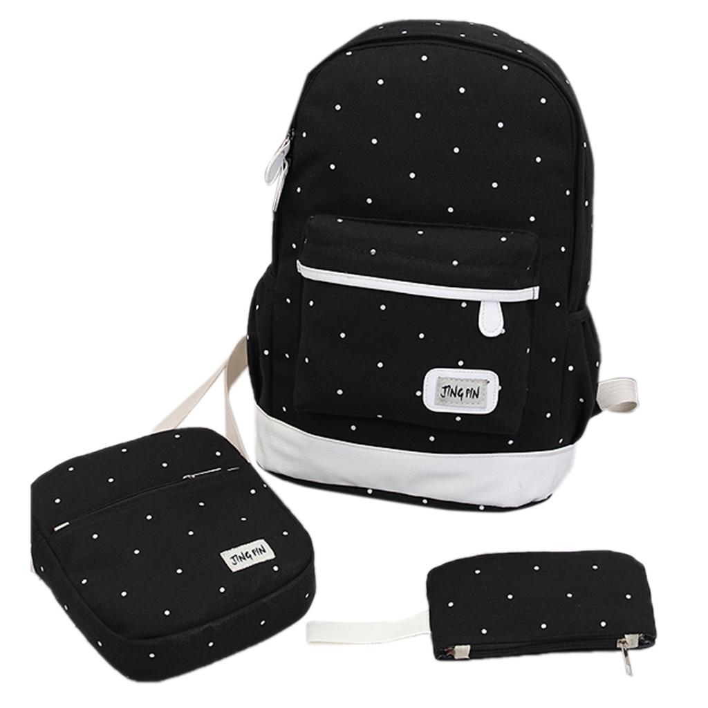 Schoolbag Laptop Backpack Travel Travel-Bag Book-Bags Satchel-Shoulder Men