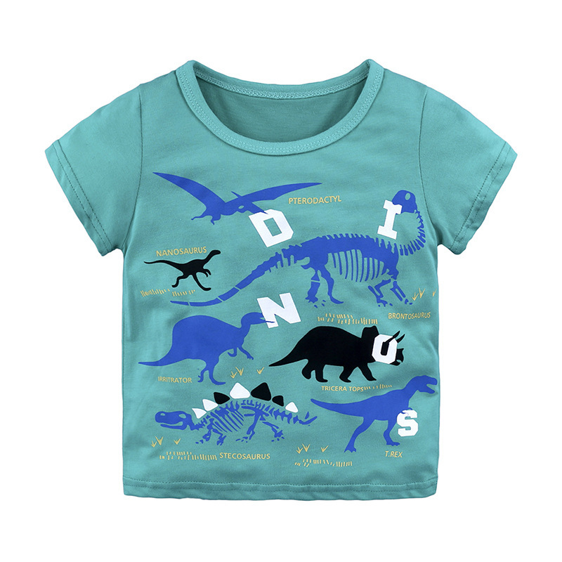 Boys Shirts New Hot Sale european And American Style Cotton Unisex Roblox Childrens Summer 2018 Sleeve T - Shirt Boy