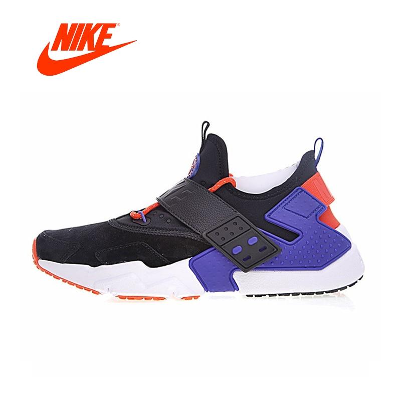 Original New Arrival Authentic Nike Air Huarache Drift Prm Men's Comfortable Running Shoes Sneakers Good Quality AH7335-002 original new arrival 2018 nike air huarache drift prm men s running shoes sneakers