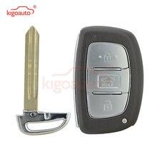 Kigoauto 3 кнопки 433 МГц pcf7952 для hyundai elantra key smart