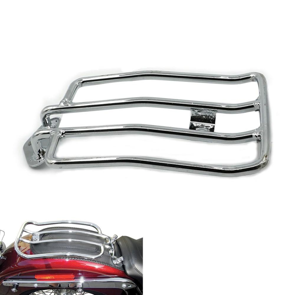 Luggage Saddlebag Rack Bracket for Harley Sportster 883 1200 Custom XL1200C 04-16 Iron XL883N 10-14 Low XL883L 05-10 Solo Seat brand new silver color motortcycle accessories abs plastic led tail light fit for harley harley iron 883 xl883n xl1200n chopped