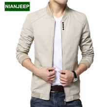 Brand new men's jacket spring autumn long Slim Wash cotton casual male jackets M-4XL men Outdoors tooling coats men clothing