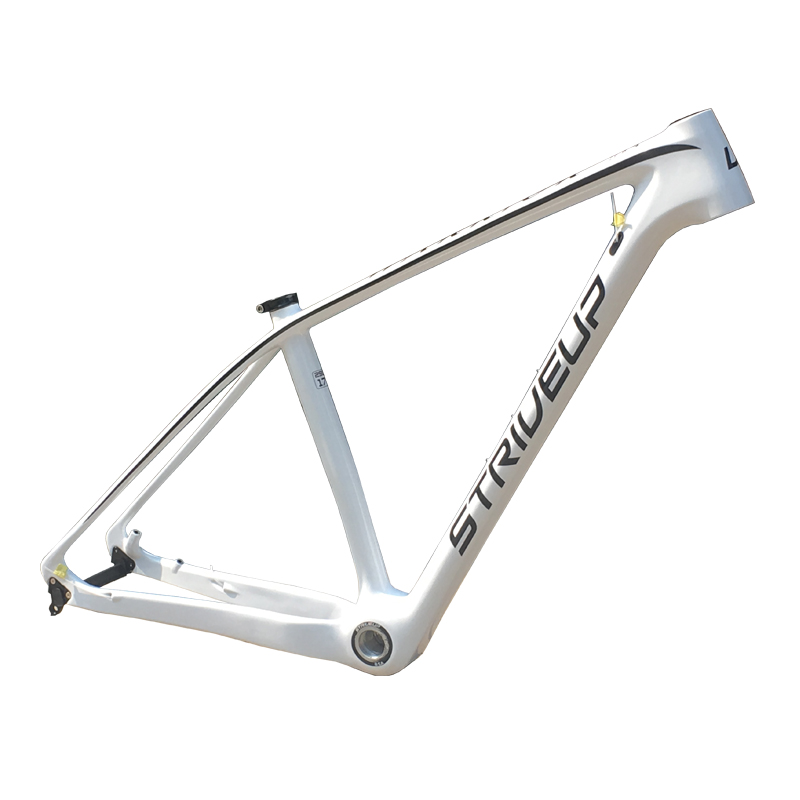 STRIVEUP 2019 carbon bike frame cheap 29er bsa bottom bracket UD t800 size 15/17 inches mtb mountain bike frame made in China image