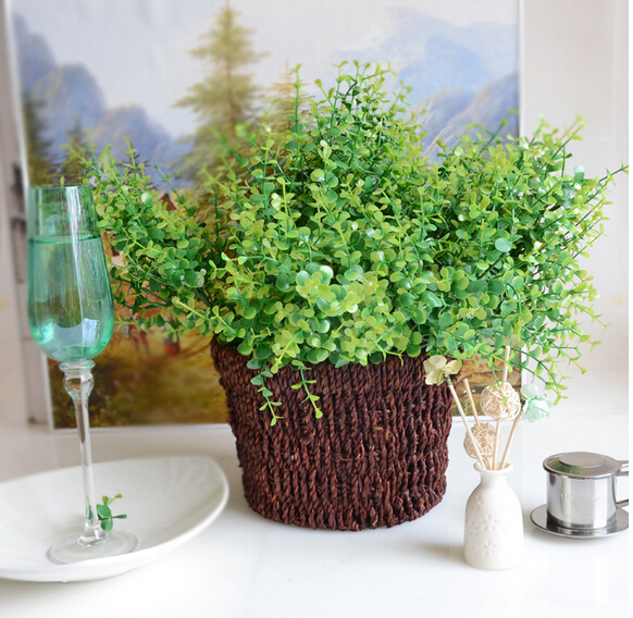 Online kopen wholesale verse eucalyptus krans uit china verse eucalyptus krans groothandel - Decoratie kantoor ...