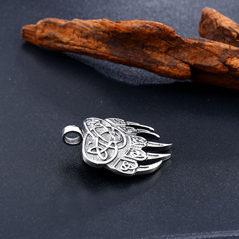 Pendentifs Viking ours griffe  3