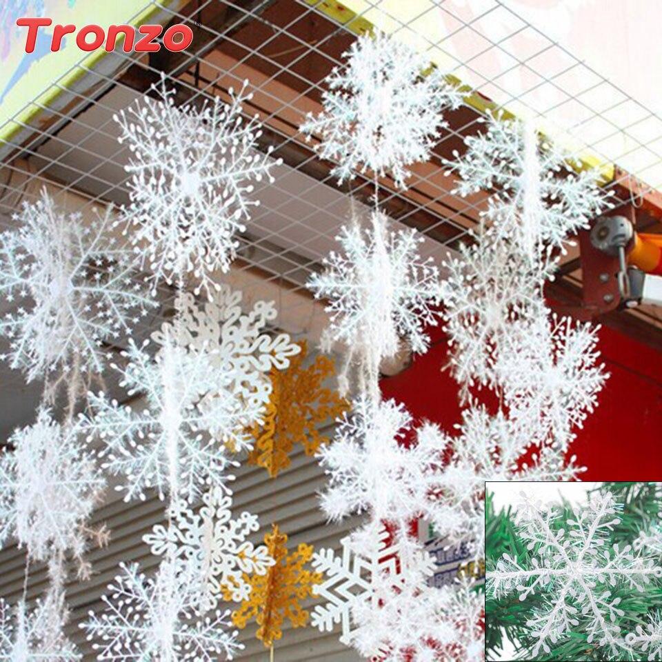 frozen anna elsa snowflakes christmas tree decorations anna elsa ...
