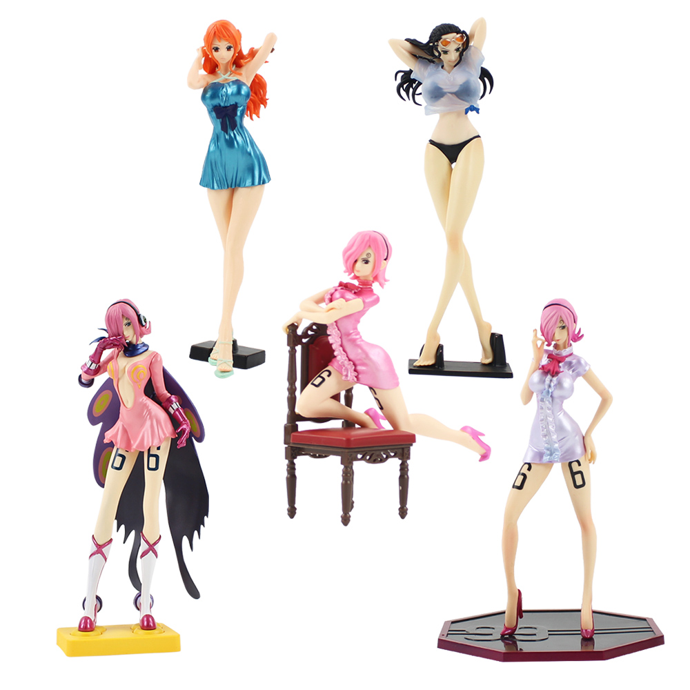 Action & Toy Figures Able Anime One Piece Figure Toys Boa Hancock Nami Vivi Vinsmoke Reiju Action Figure Flag Diamond Hancock Pirate Collection Model Orders Are Welcome.