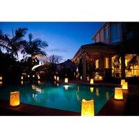 30 Pcs Tea Light Holder Luminous Paper Lantern Candle Bag For Party Wedding