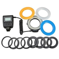 Ring Flash SLR Camera Ring Fill Light Macro Ring Flash LED Light for Canon Nikon Pentax Olympus Universal
