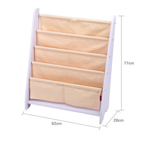 Image 5 - Estante de madera para libros para niños de 5 niveles, estantería de almacenamiento, organizador de exhibición, decoración del hogar