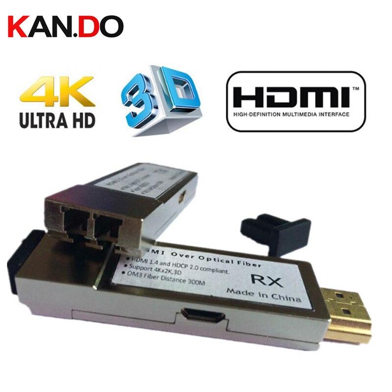 THF106M 300M HDMI Optic Fiber Extender 300m HDMI1.4V 4K*2K 3D Fiber LC OM3 Multimode Converter For HDTV, LCD ,PS3 Projector